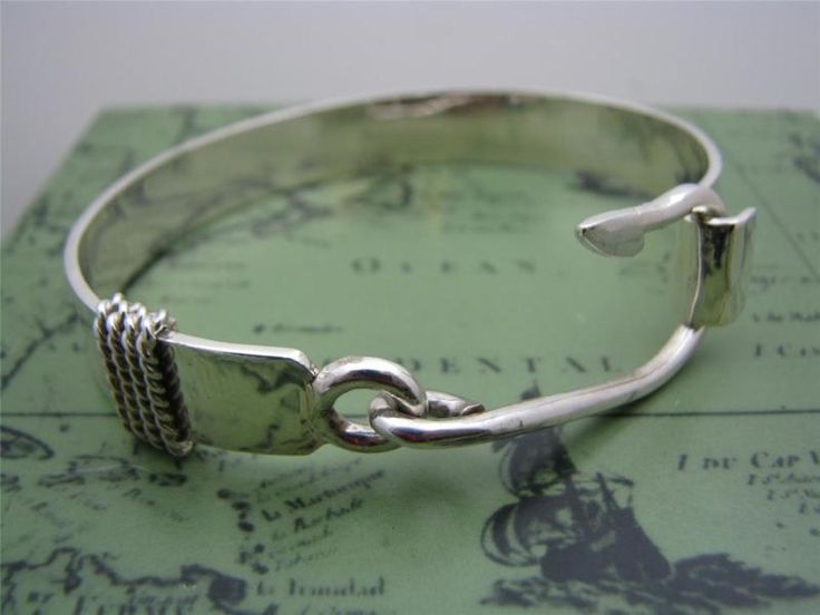 ACTS Sterling Silver Fishers Of Men Hook Bracelet