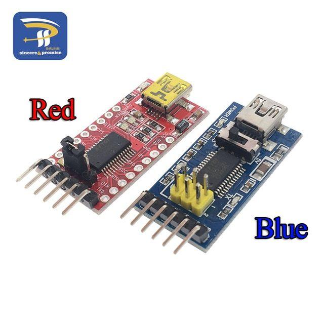 FT232RL 3.3V 5.5V FTDI USB to TTL Serial Adapter Module Arduino Blue Port