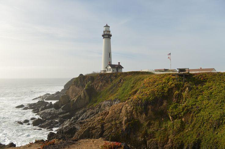 Lighthouse Pigeon Point Santa Cruz California