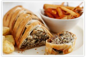 nut wellington vegetarian loaf recipe - The Co-operative recipes >> Christmas dinner = sorted