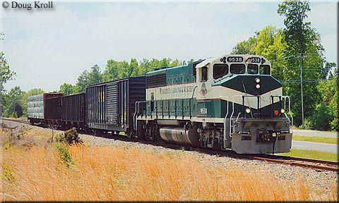 The Aberdeen, Carolina & Western Railway (reporting marks, ACWR) is a shortline operating in the southwestern-south central part of North Carolina between Charlotte due east to Aberdeen with a line heading northeast from Star to an interchange connection at Gulf with the Norfolk Southern. The history of the routes the AC&W operates date back to one of North Carolina's oldest and most well known railroads. A relatively new shortline, the AC&W was created in 1987 when it purchased a former NS…