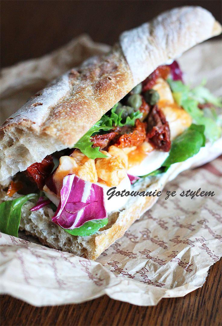 Sicilian sandwich | gotowanie ze stylem