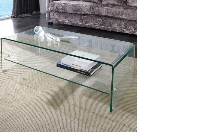 Table basse en verre design SARTI