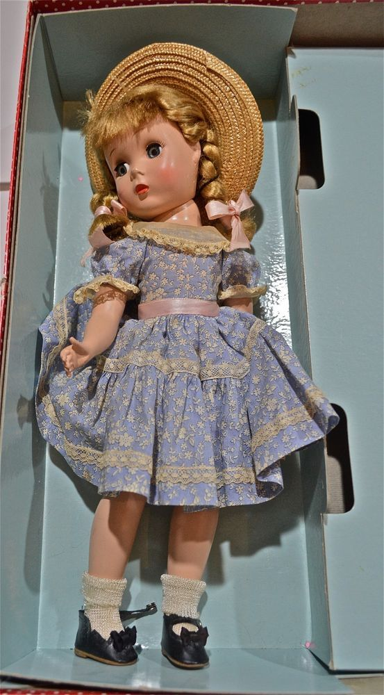 "1950'S 16"" MADAME ALEXANDER DOLL WITH ""MARYBEL""CASE #MADAMEALEXANDER"