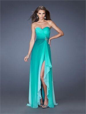 16 besten Green Prom Dresses Bilder auf Pinterest | Abendkleider ...