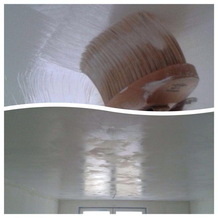 Take a look at this great ceiling #fresco #pureandoriginal #limewash toxicfree, naturalcolors