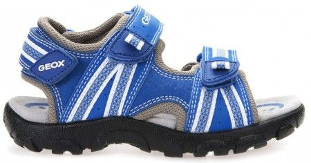 Geox Strada Royal Blue Sandals