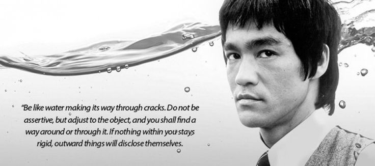 Bruce Lee Water Quote Tattoo | ZooZo.org
