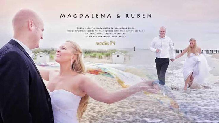 Magdalena & Ruben teledysk ślubny www.media-24.pl #ślub #wedding #wesele #film #Brugge #Sluis