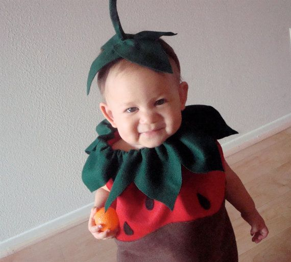 chocolate dipped strawberry costume toddler costumesbaby costumeshalloween - Strawberry Halloween Costume Baby