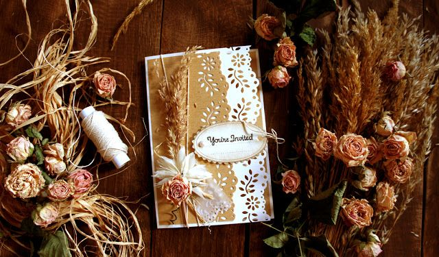 art of the idea: how to make your own wedding invitations