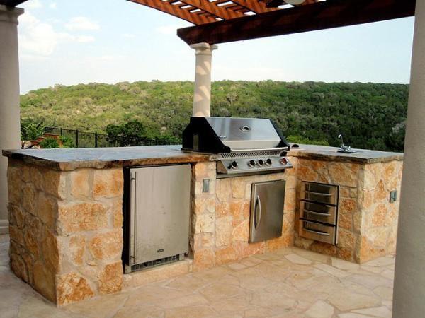 outdoor kitchen style 40 Fantastic Outdoor Kitchen Designs