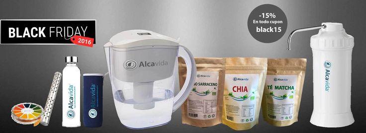 ofertas en jarra alcalina optima350 y ionizadores agua  blackfriday