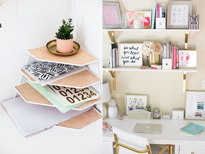 1079 best inspiration images on pinterest for Decorer son bureau au travail