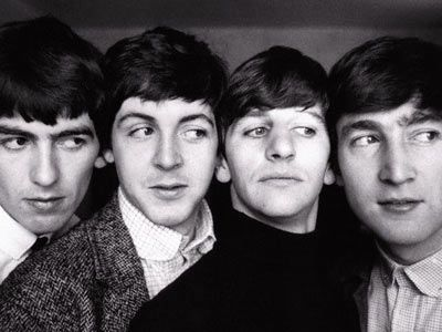—The Beatles: George, Paul, Ringo & John