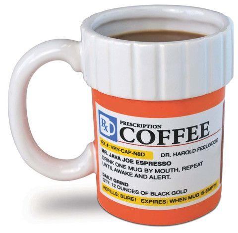 Prescription Bottle Coffee Mug – GoGetGlam