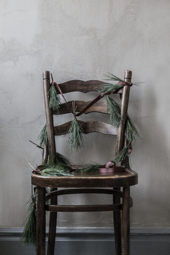 Make Pine Garland by  mari strenghielm at willowday
