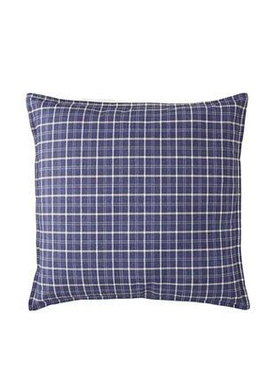 55% OFF Tommy Hilfiger Vintage Plaid Decorative Pillow, Navy, 18