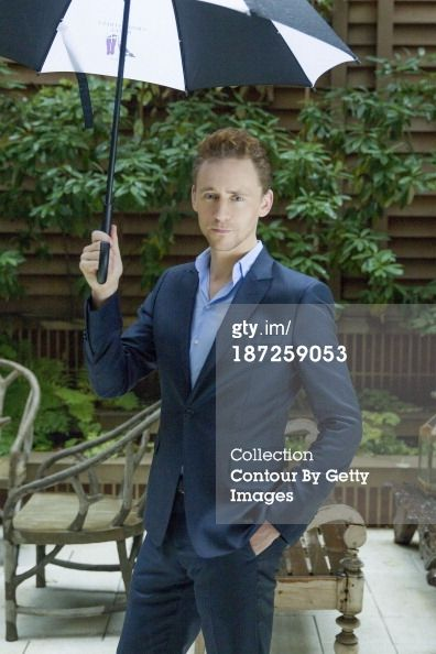 News Photo: Actor Tom Hiddleston is photographed for USA Today…