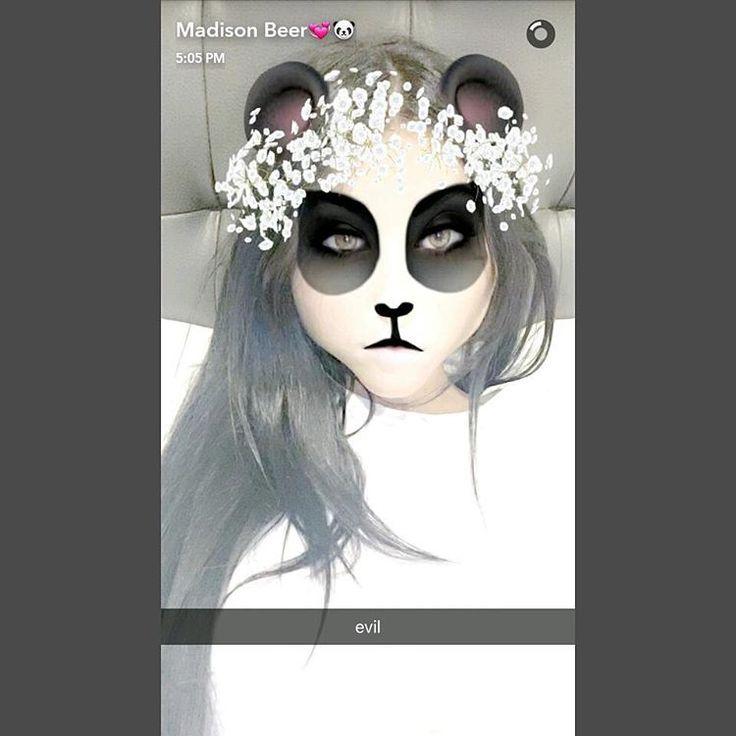 @madisonbeer: #MadisonBeer (Via Snapchat/ Snapchat Name: Whosmb) (September 16th, 2016)