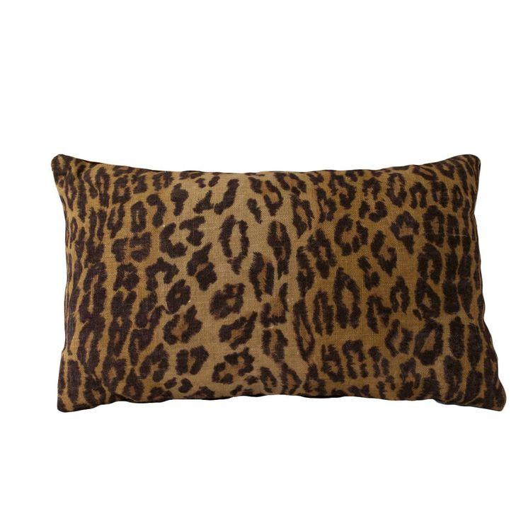 Ralph Lauren Leopard Pillow