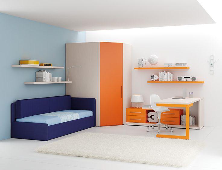 #Arredamento #Cameretta Moretti Compact: Catalogo Start Solutions 2013 >> LH34 http://www.moretticompact.it/start.htm