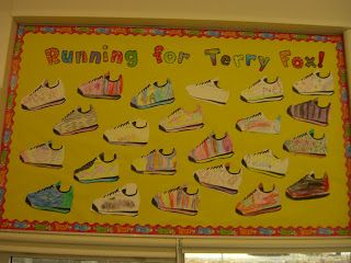 Terry Fox literacy activity