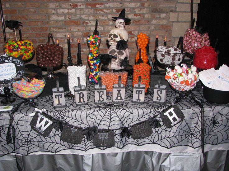 halloween candy buffet halloween candy buffet pinterest candy buffet halloween candy and. Black Bedroom Furniture Sets. Home Design Ideas