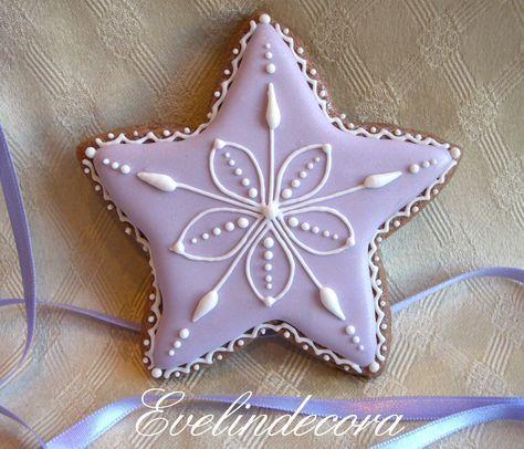 biscotti decorati natalizi in pasta sucrè speziata Evelindecora