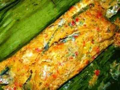 Pepes Ikan Teri - Kumpulan aneka panduan cara membuat video resep pepes ikan teri basah segar medan untuk nasi tahu asin kelapa parut yang paling enak serta sangat praktis.