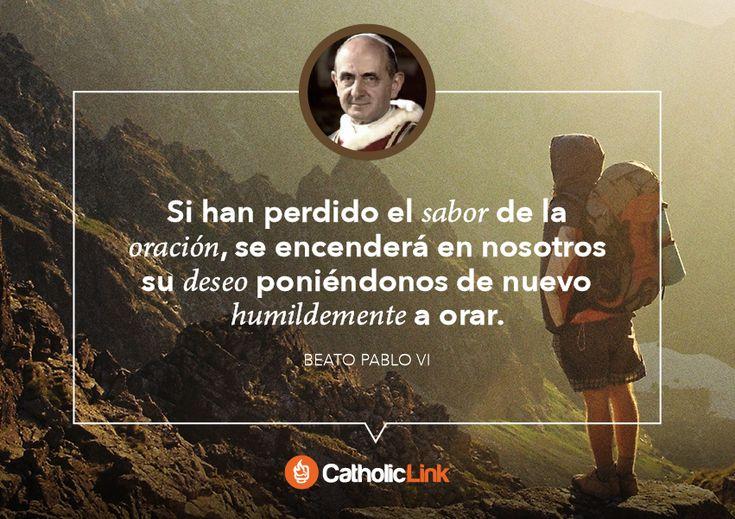 Biblioteca de Catholic-Link - Galería: Frases de Papas y santos sobre la oración