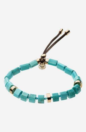 Michael Kors 'Seaside Luxe' Stone Stretch Bracelet available at #Nordstrom
