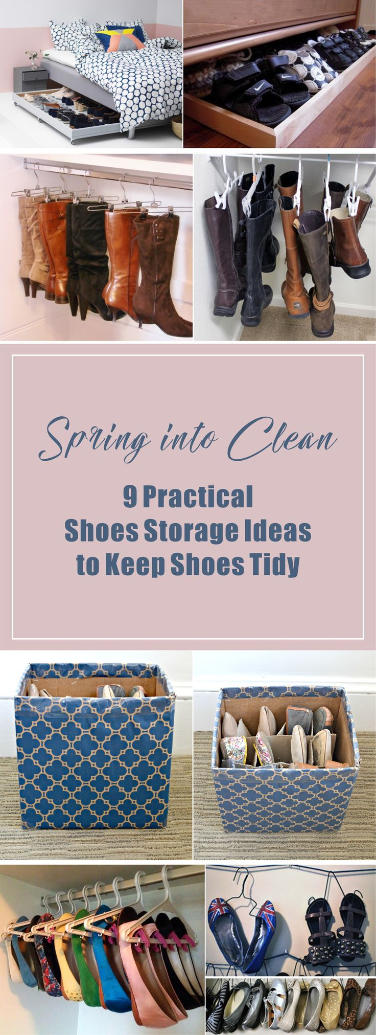 Spring Into Clean: 9 Practical Shoes Storage Ideas to Keep Shoes Tidy