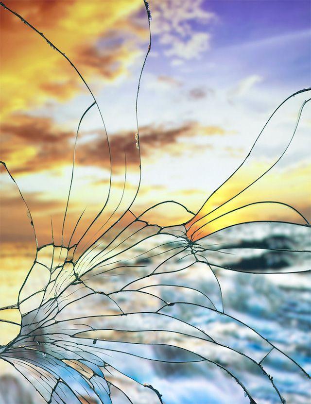bing images of mirrors | Broken Mirror by Bing Wright – Fubiz™