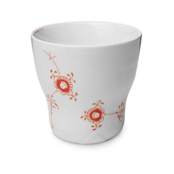 Multicoloured Elements  Thermal mug - Coral