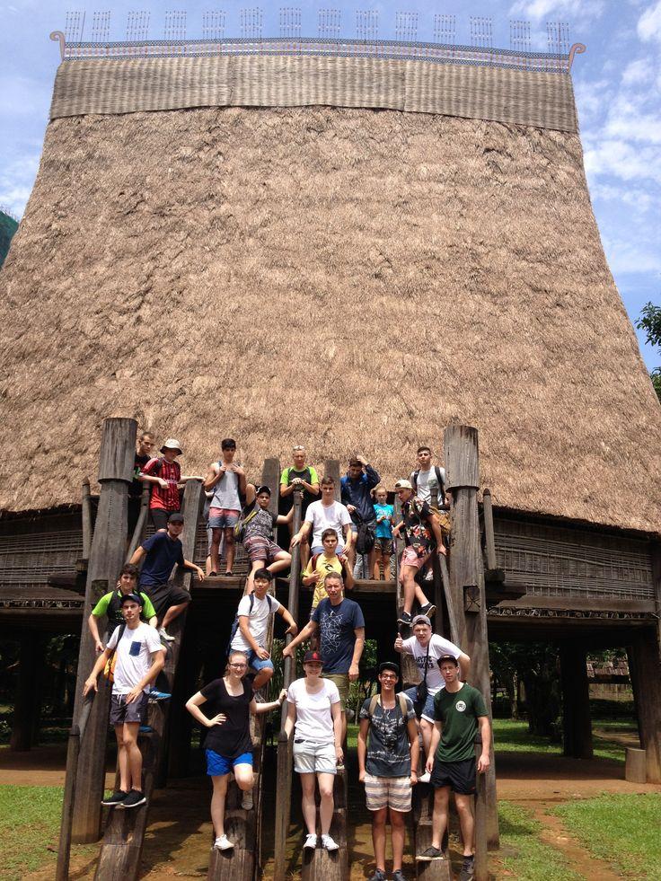 Love the roof! #VietnamSchoolTours #Vietnam