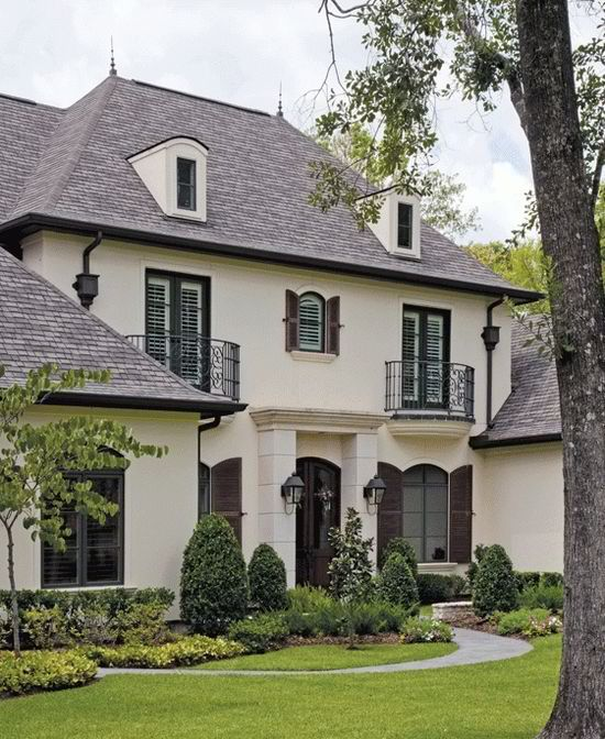 Exterior Pictures Of Mediterranean Style Homes Cities: 1000+ Ideas About White Stucco House On Pinterest