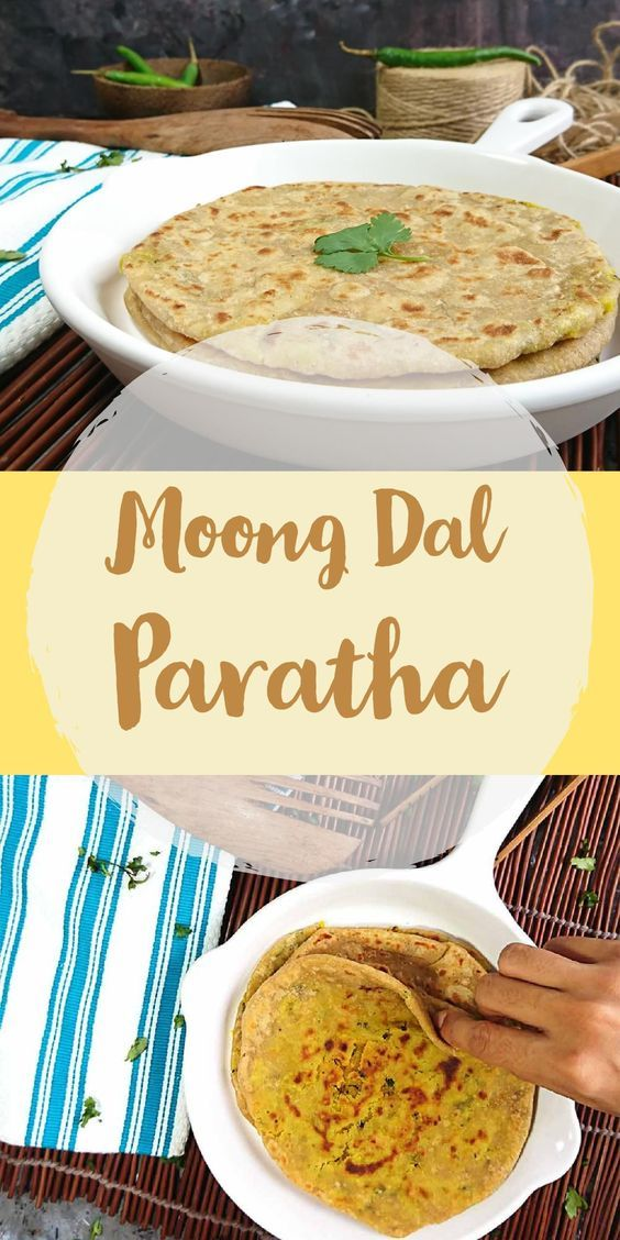 Moong Dal Paratha | Yellow Moong Dal Stuffed Paratha
