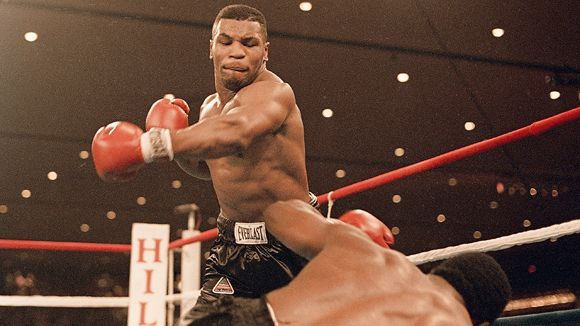 """""""Iron"""" Mike Tyson knocked Trevor Berbick down 3xs with this punch."""