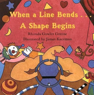 A line is thin. A line is narrowcurved like a worm, straight as an arrow. Squares, circles, triangles, and many more shapes abound in this lively book. With jaunty, rhyming text, young readers are invited to find different shapes on each busy, vibrant page. Once you start looking, you won't be able to stop! The perfect book for little ones beginning to distinguish shapes.