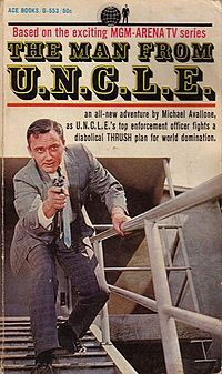 The Man from U.N.C.L.E. - Wikipedia, the free encyclopedia-I learned how to play a spelling game from these books--it was fun.