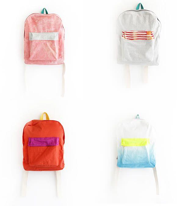 Back To School Backpacks :: Handmade Charlotte