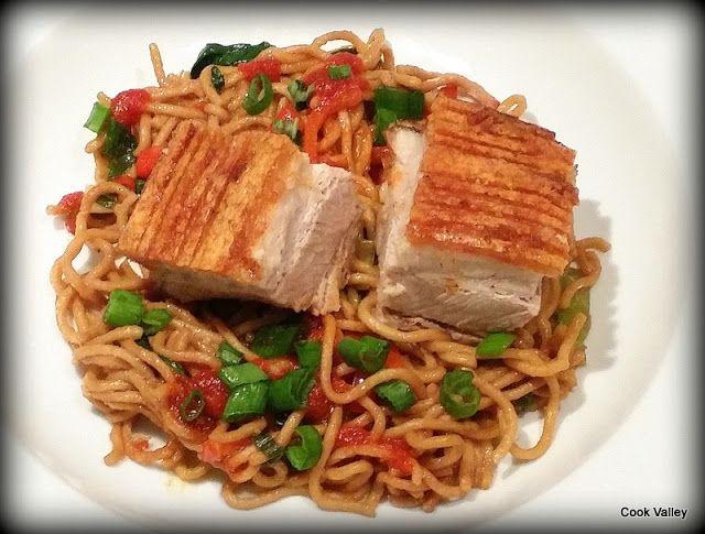 cookvalley - tanker om mad: Kinesisk inspireret ribbenssteg med fuldkornsnudle...