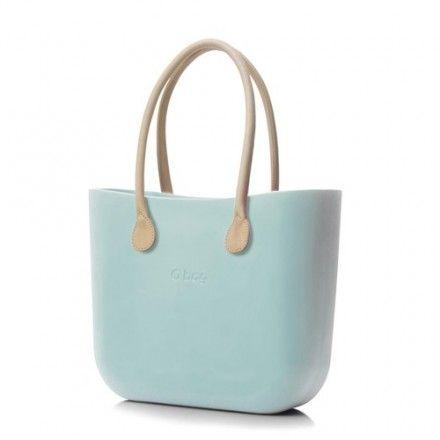 decovry.com - Fullspot | O bag naturel lederen handvaten | Turquoise