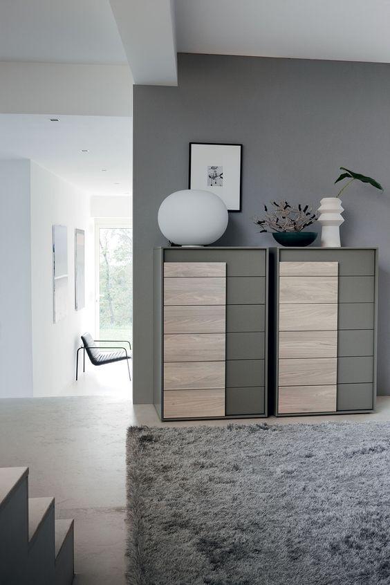 21 best Wohnzimmer images on Pinterest Blush grey copper living - kommode schlafzimmer modern