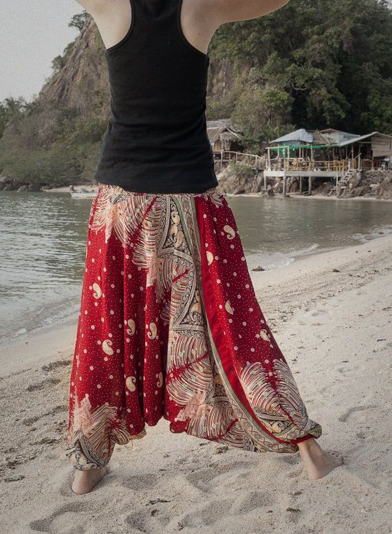 Harem Pants / Baggy Pants / Aladdin Pants / Yoga by AsianCraftShop