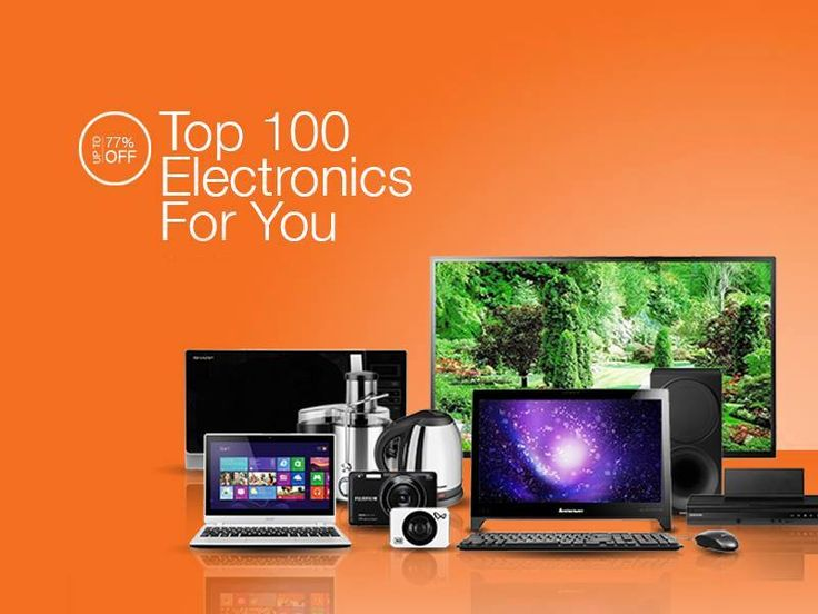Shop HOT DEALS on the best 100 #electronics bit.ly/1mTTdQ4