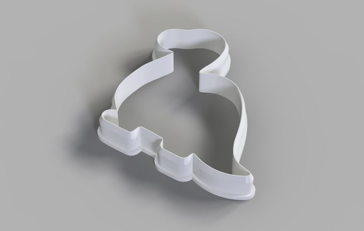 Dino1 cookie cutter (3D Model for 3d printing) Digital Download by 3DSlice on Etsy