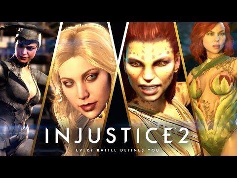 Game Engine: NEW INJUSTICE 2 TRAILER REVEALS FEMALE VILLIANS