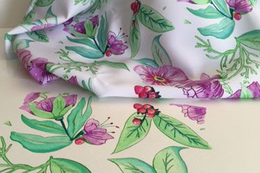 Textile Design - a short course designed to provide you with the basics you will require to discover your personal untapped inspiration from within.